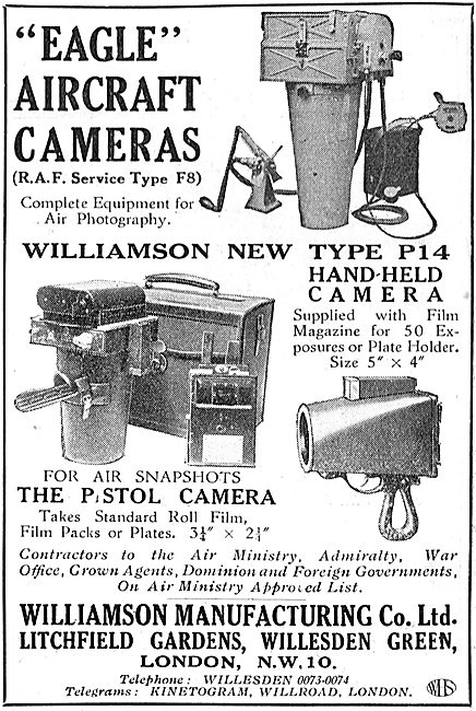 Williamson Eagle P14  Aircraft Camera