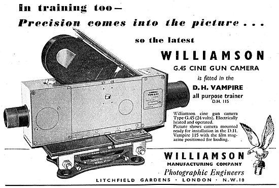 Williamson G45 Cine Gun Cameras  - Vampire
