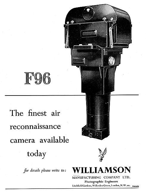 Williamson F96 Air Reconnaissance Camera