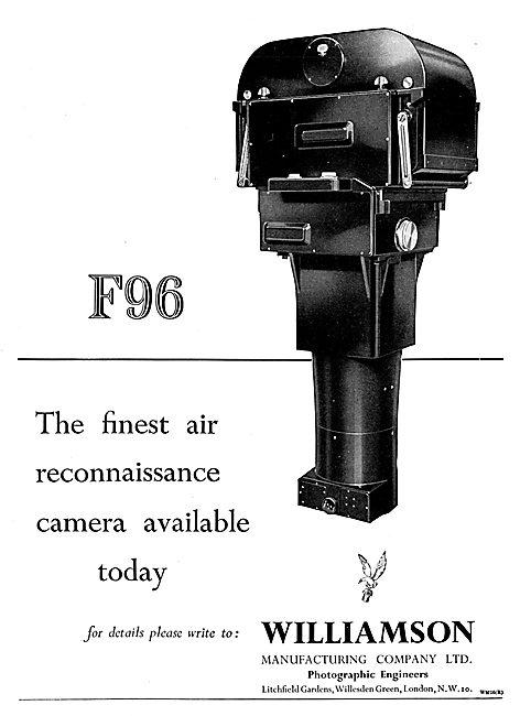 Williamson F96 Aircraft Camera