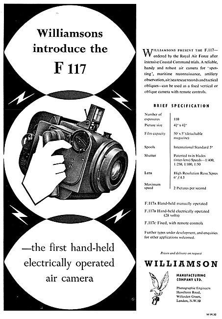 Williamson F117 Camera