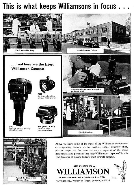 Williamson Aircraft Cameras, Gun Cameras & Accessories
