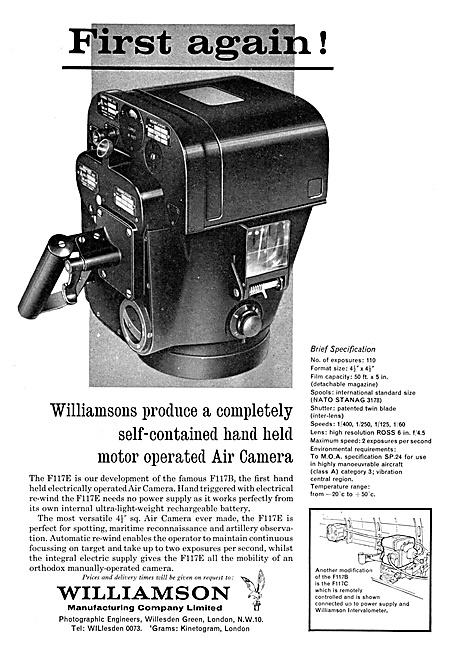 Williamson F117B Air Camera