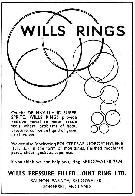 Wills Pressure Filled Joint Rings - Wills Rings
