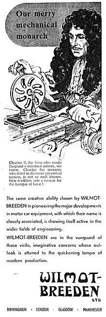 Wilmot-Breeden Aircraft & Motor Vehicle Parts 1943