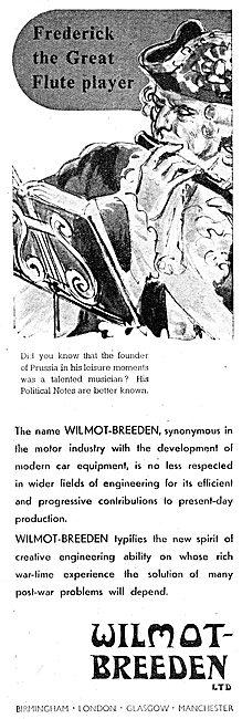 Wilmot-Breeden Aircraft & Motor Vehicle Equipment