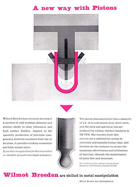 Wilmot Breeden Metal Manipulation - Sheet Metal Work