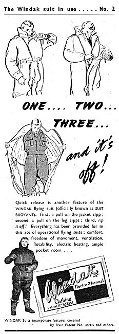 Windak Electrically Heated Flying Suits 1943