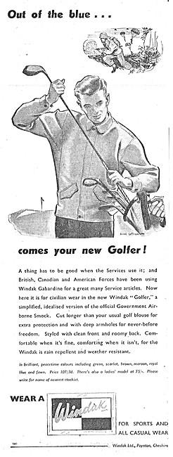 Baxter Woodhouse & Taylor -  Windak Leisurewear 1945