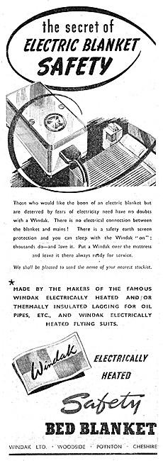 Baxter Woodhouse & Taylor -  Windak Electric Blankets