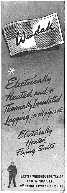 Windak Electrically Heated Pipe Lagging 1948