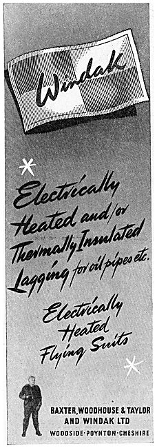 Baxter Woodhouse & Taylor -  Windak Electrically Heated Lagging