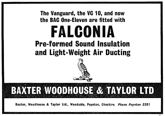Baxter Woodhouse & Taylor FALCONIA Ducting & Sound Insulation