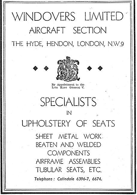 Windovers - Sheet Metal Work & Upholstery