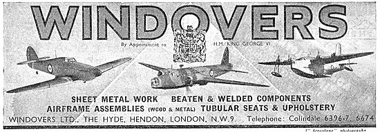 Windovers - Sheet Metal Work & Airframe Assemblies