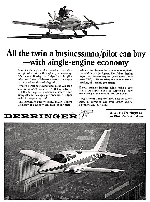 Wing Derringer Aircraft