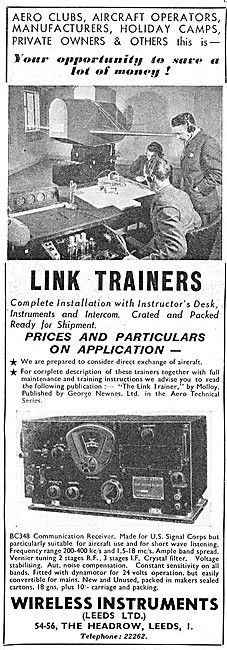 Wireless Instruments Link Trainers