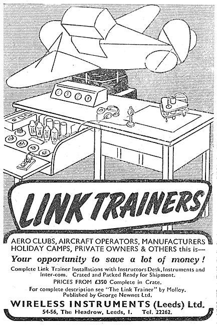 Wireless Instruments Link Trainers & Installations
