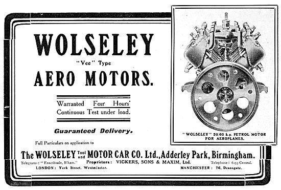 Wolseley Aero-Engines