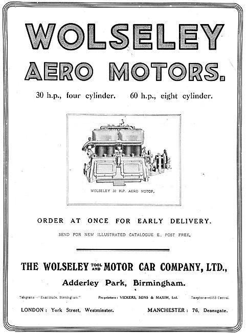 Wolseley Aero Engines