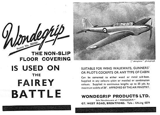 Wondegrip Non-Slip Floor Coverings. Battle
