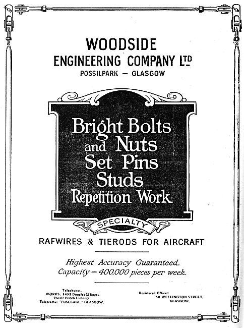 Woodside Engineering.- AGS Parts & Accessories 1919