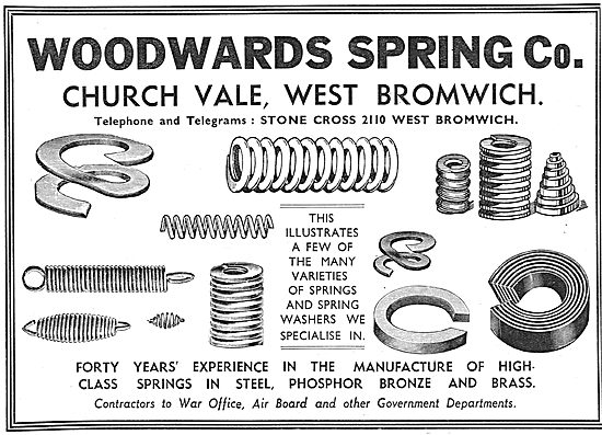 Woodwards Spring & Washer Co - Church Vale