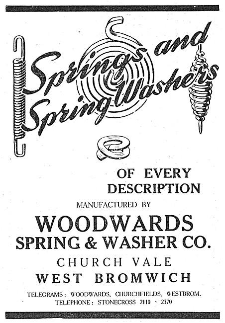 Woodwards Springs & Washers