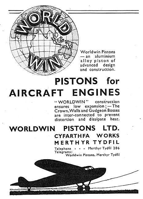 Worldwin Aero Engine Pistons -