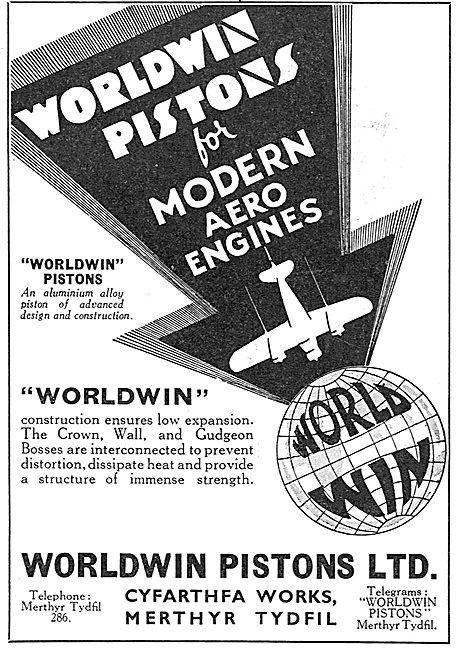 Worldwin Aero Engine Pistons - Merthyr Tydfil