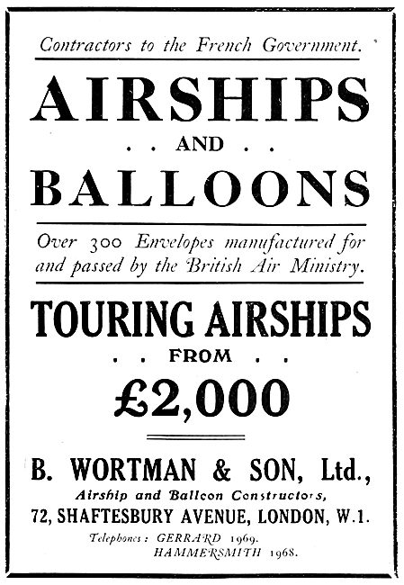 Wortman Airships & Balloons.
