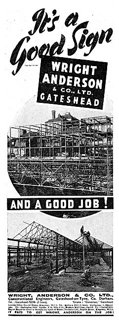 Wright  Anderson Constructional Engineers