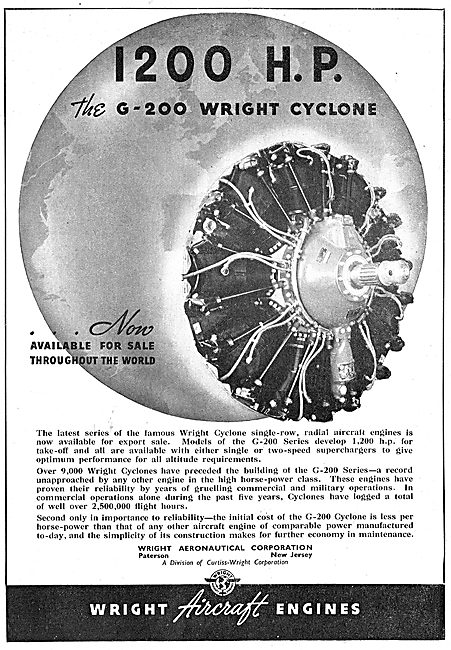 Wright Cyclone G-200