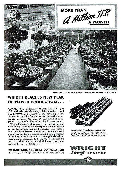 Wright  Aero Engines.