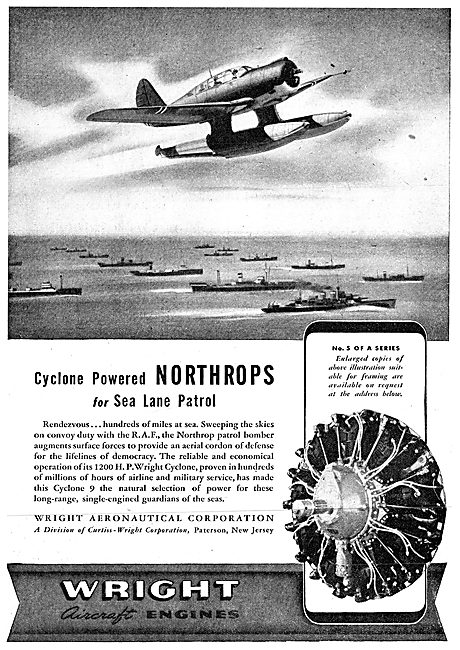 Wright Cyclone - Northrop Patrol Bomber
