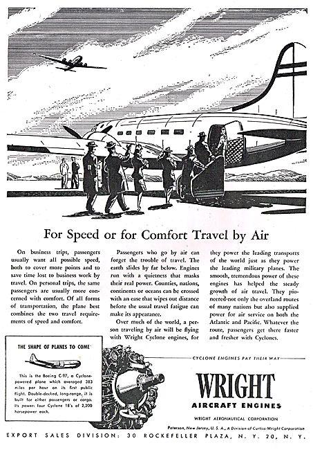 Wright Cyclone Boeing C-97