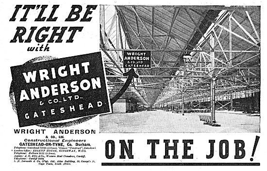 Wright Anderson & Co - Aircraft Hangars