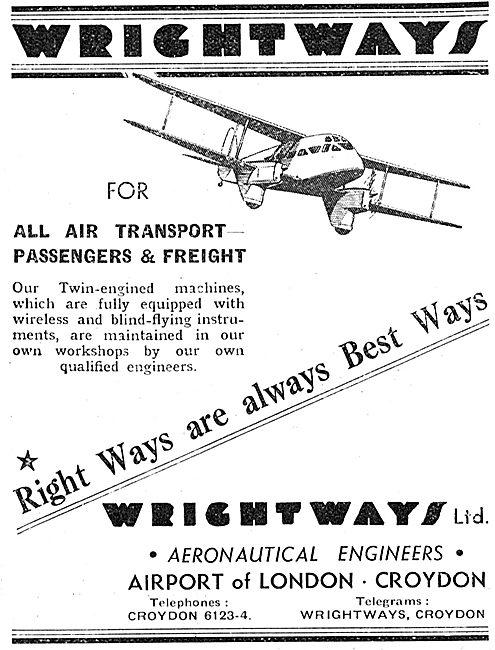 Wrightways Croydon - Air Taxi Service