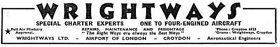 Wrightways Of Croydon - Air Charter