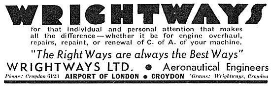 Wrightways Of Croydon - Aircraft Engineering