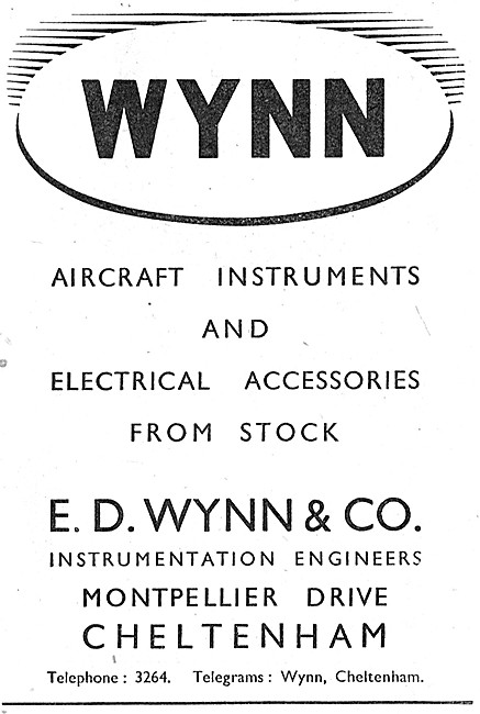 E.D.Wynn & Co Instrument & Electrical Spares Stockists