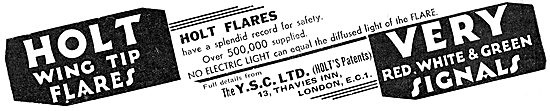YSC Standard Pyrotechnics - Holt Wing Tip Flares