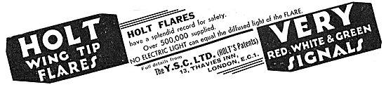YSC - Holt Wingtip Landing Flares