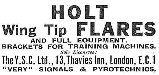 YSC - Holt Wingtip Flares