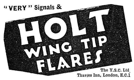 YSC Pyrotechnics - HOLT Wing Tip Flares