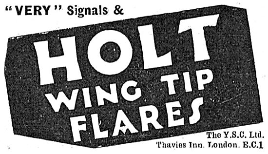 YSC  Holt Wing Tip Flares & Very Signals