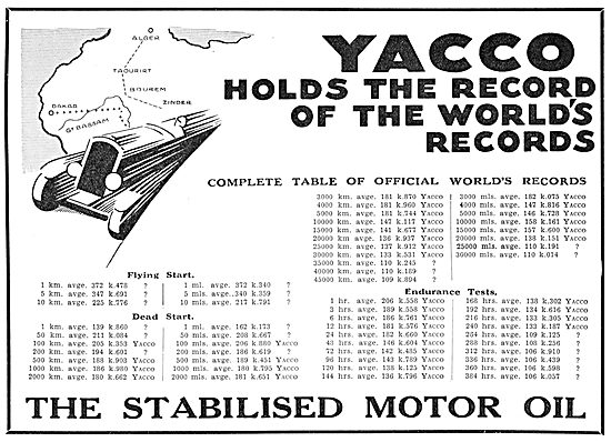 Yacco - Aero Engine Oil