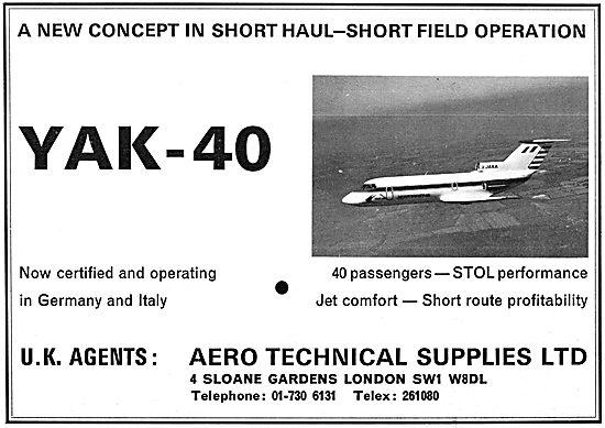 Aviaexport Yakolev YAK-40