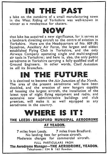 Leeds Bradford Airport - Yeadon. Facilities