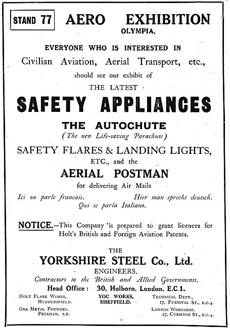 The Yorkshire Steel: